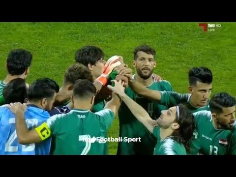 ملخص مباراة العراق والبحرين تعليق محمد السعدي تصفيات كاس العالم وتصفيات كاس اسيا 19-11-2019