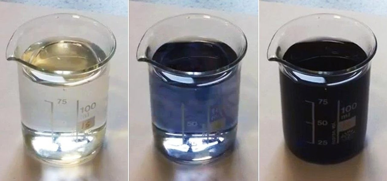 the iodine clock reaction A solution of hydrogen peroxide is mixed with one containing potassium iodide, starch and sodium thiosulfate after a few seconds the colourless mixture suddenly turns dark blue this is one of a number of reactions loosely called the iodine clock it can be used as an introduction to experiments on rates / kinetics.