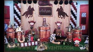 Amazing Western Cowboy Theme Party Decor ideas in Pakistan | 1st Birthday ideas for boy