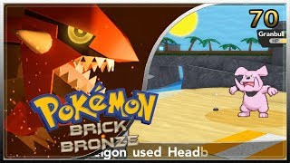 POKEMON BRICK BRONZE RANDOMIZER ROBLOX #70 BATTLES ON THE BEACH ? ENGLISH GAMEPLAY
