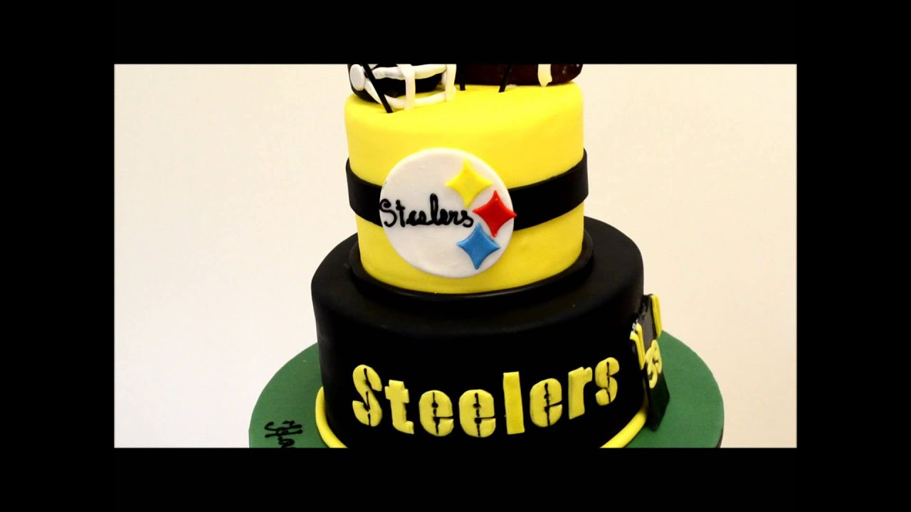 Pittsburgh Steelers Themed Cake Football Theme Cake YouTube