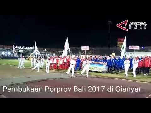 Pembukaan Porprov Bali Dimeriahkan Fragmen Kolaborasi Tari Massal
