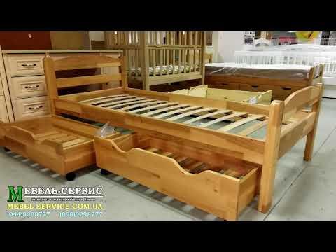 Односпальные детские кровати из дерева. Выбор кровати для ребенка от 3 лет