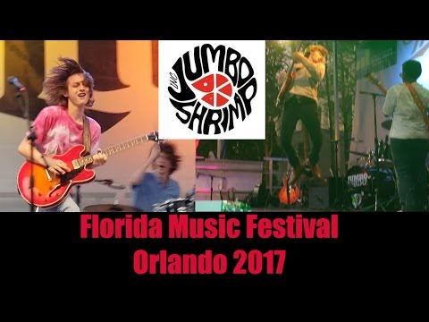 Jumboshrimp at Florida Music Festival, Downtown Orlando 2017