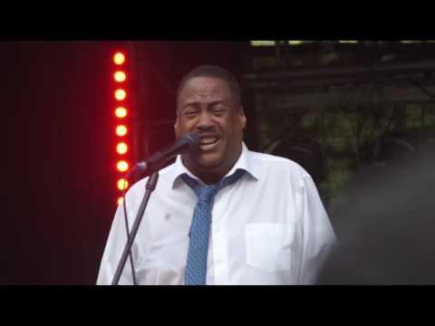 Keith Tynes und Band -  I feel good| auf den Steglitzer Festwoche am 29.5.16