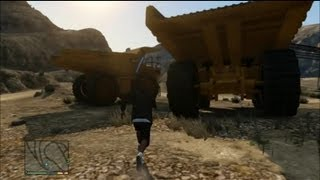 GTA V - The biggest TRUCK (?) - Bigger than a Monster Truck