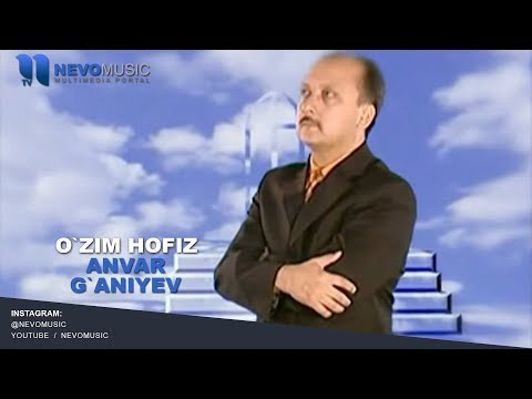 Anvar G`aniyev - O`zim hofiz | Анвар Ганиев - Маликам