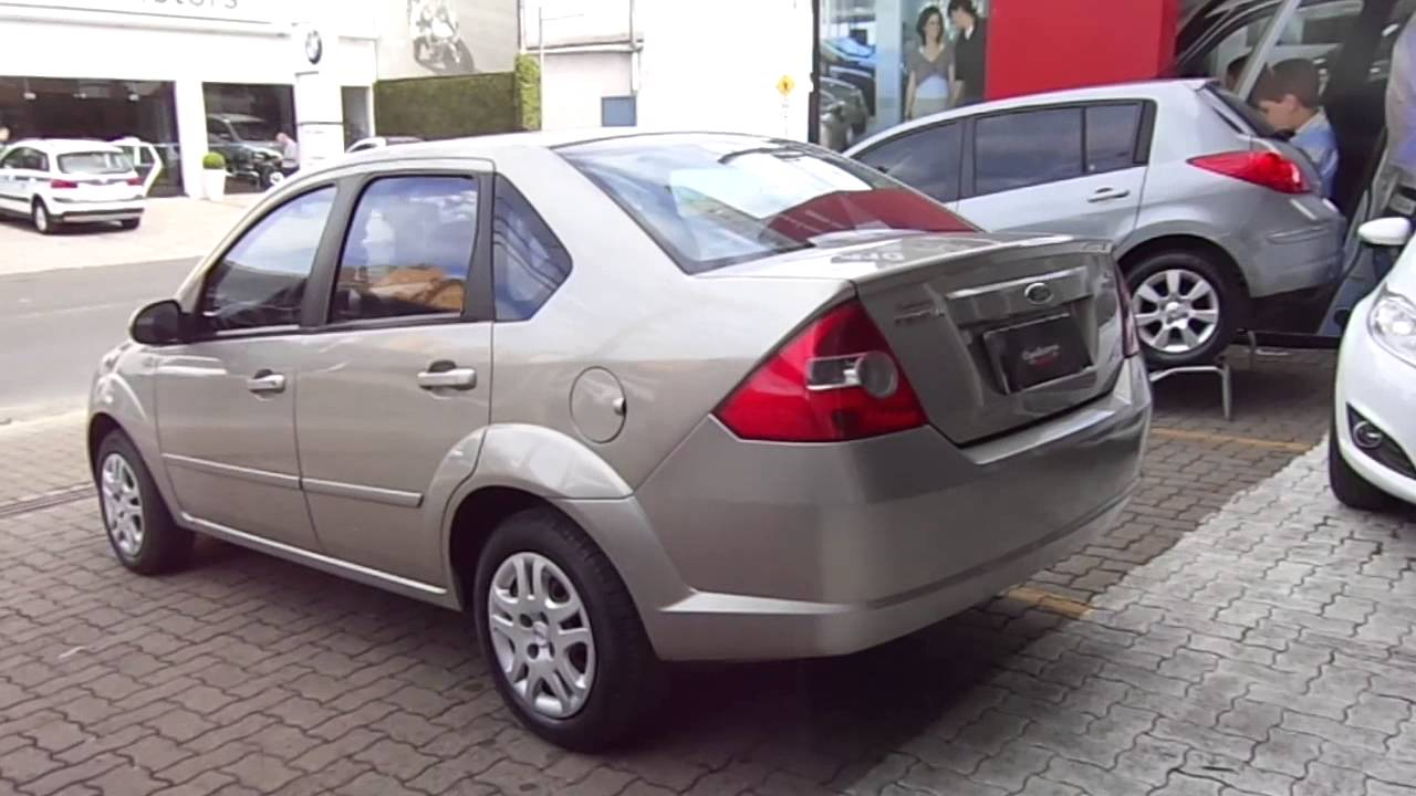 Ford Fiesta Sedan >> Ford Fiesta Sedan 1.6 8v (Flex) 2005 - YouTube