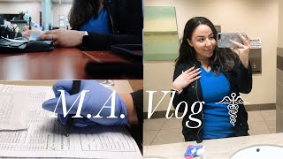 Day in the life of a Medical Assistant | Closing Shift