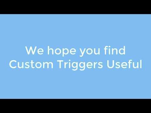 ActiveWords - Custom Triggers
