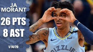 Ja Morant showcases his handles in Grizzlies