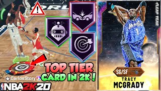 GALAXY OPAL TRACY MCGRADY GAMEPLAY! 2K MADE HIM ONE OF THE BEST CARDS IN NBA 2K20 MYTEAM