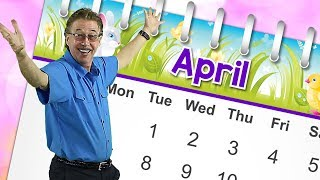 April   Calendar Song for Kids   Month of the Year Song   Jack Hartmann