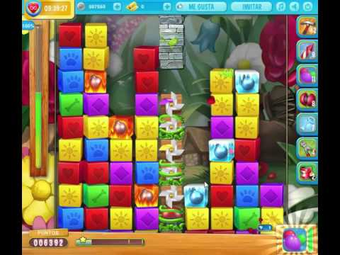 Pet Rescue Saga Nivel 1268 sin booster.-