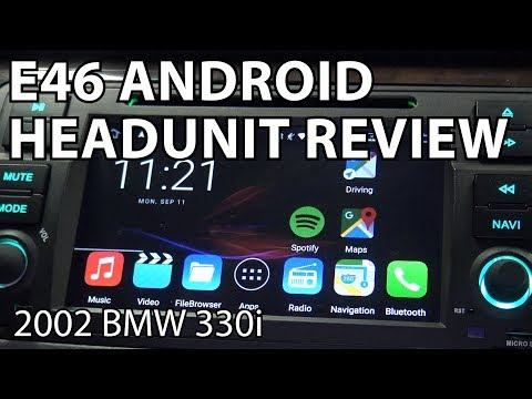 Android Head Unit For a BMW E46!