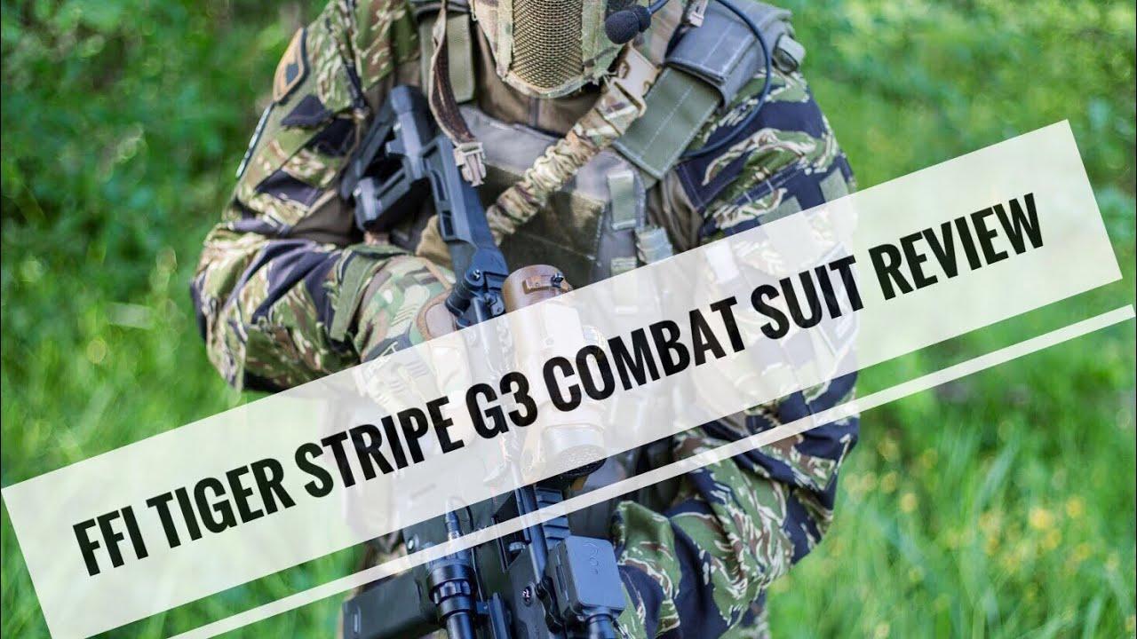 652b0c1d FFI Tiger Stripe Camo G3 Combat Suit Review - YouTube