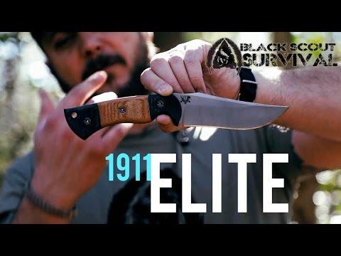 Dark Timber Hand Forged Kodiak Knife By Peter Kohler