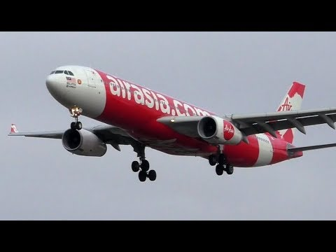 The First International Flights At Avalon Airport; AirAsia X