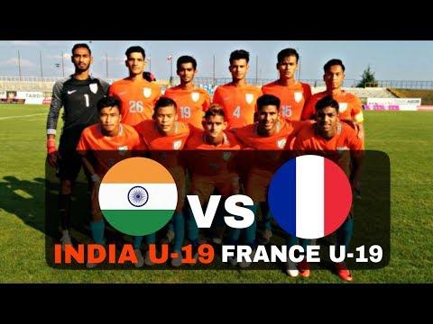 INDIA U-19 VS FRANCE U-19 – FULL MATCH HIGHLIGHTS –