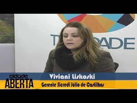 TV Cidade recebeu as duas gerentes do SICREDI em Farroupilha 20 07 16 - 1
