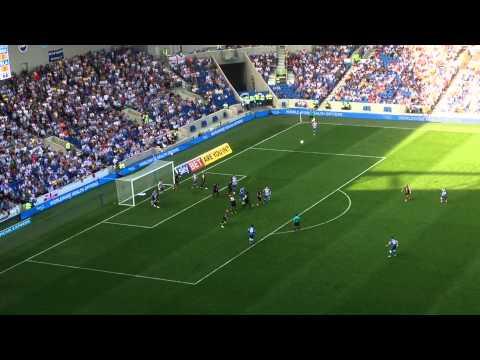Brighton V Blackpool 20/09/14 67 mins