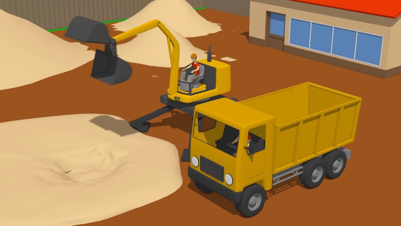 Cyclops loader and truck unexpected rescue operation - Wooden Toys