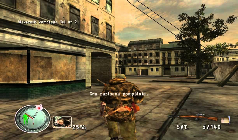 Sniper Elite Berlin 1945 Gameplay PL #2 - YouTube