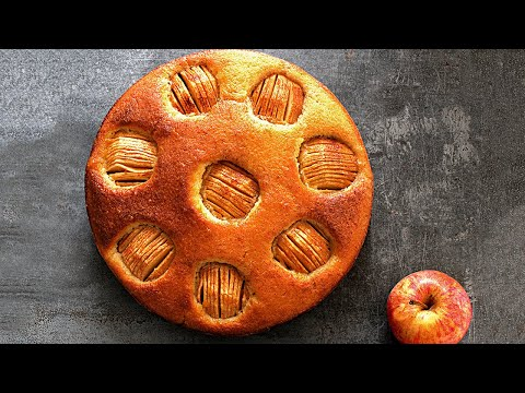 recette-de-gâteau-pommes-cannelle-facile-₪-pankaj-sharma