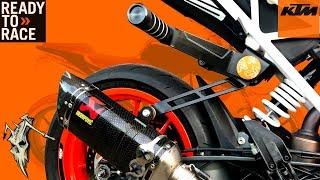 Rok Bagoros Adjustable Sub Cage Install Review KTM Duke 390