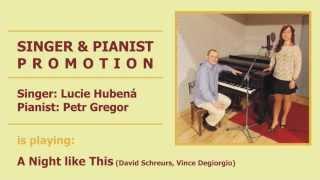 SINGER & PIANIST PROMOTION - Lucie Hubena & Petr Gregor