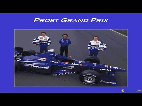 Alain Prost Grand Prix gameplay (PC Game, 1998)