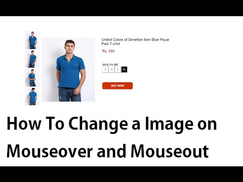 How To Change A Image On Mouseover And Mouseout