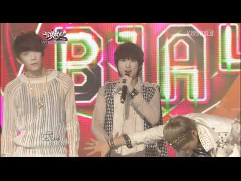 [111118] B1A4 - My Love (Comeback Stage)