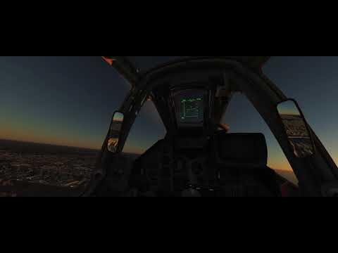 Digital Combat Simulator Gulf Map | Shot with GeForce 1080 Ti SLI | Dubai Fly Through and a Crash