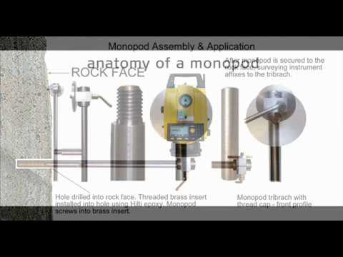 The Monopod Mining System from Northern Survey Supply