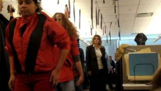 Michael Jackson's Thriller office party