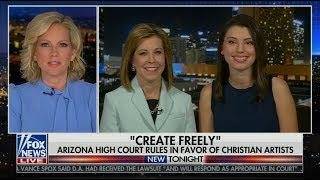 AZ Règles de la Cour Suprême en Faveur des Artistes Chrétiens   Fox News Interview