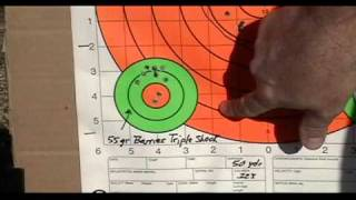 How the Benelli MR1 rifle grouped