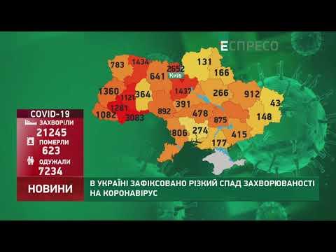 Коронавірус в Україні: статистика за 25 травня