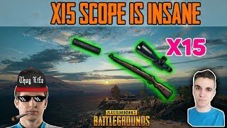 x15 Scope is INSANE - Shroud and Chad win DUO FPP [NA] - PUBG HIGHLIGHTS TOP 1