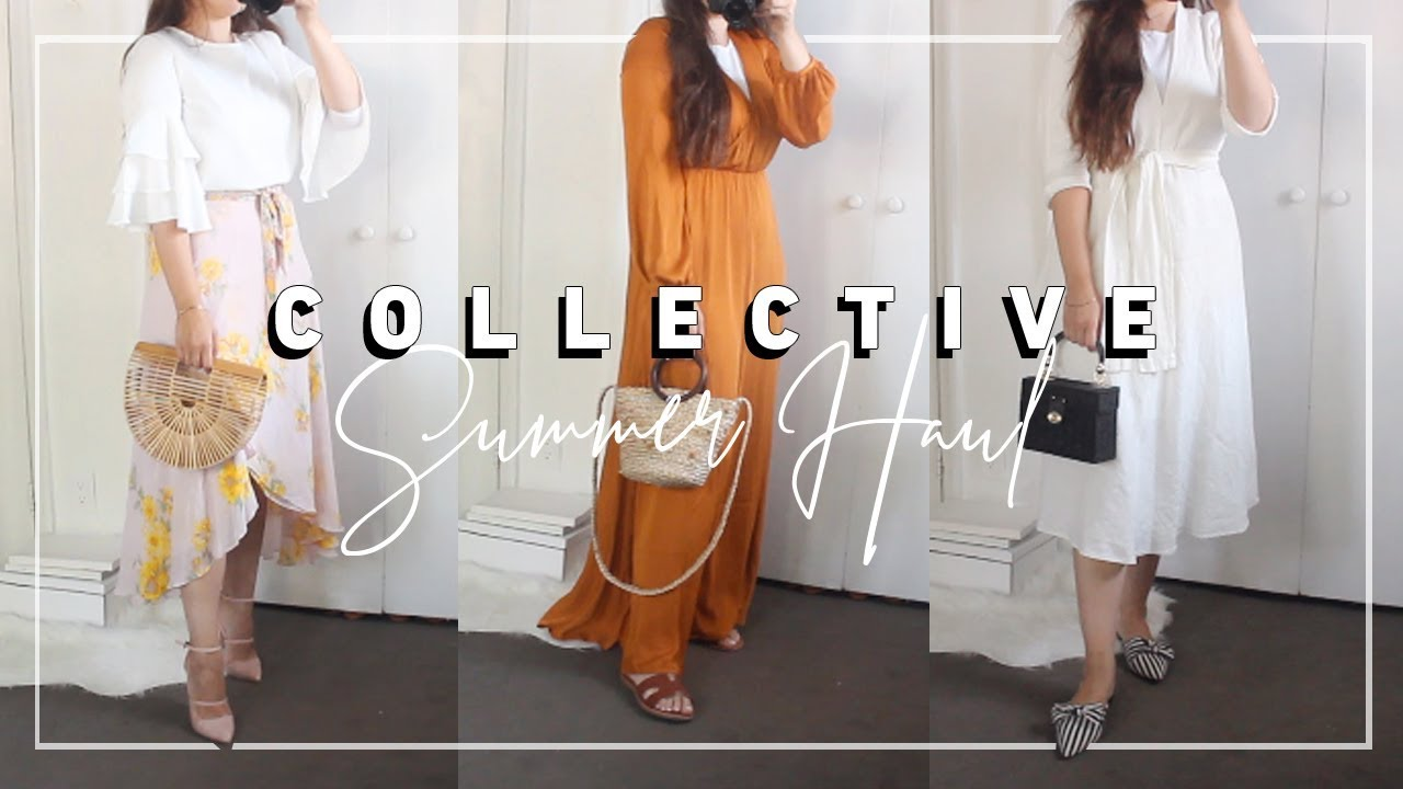 e1f2480b81a5 COLLECTIVE MODEST SUMMER HAUL! Zara Sale, H&M, Shein, Chicwish - YouTube