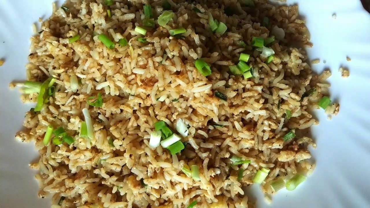 Egg Rice Korean Style Egg Fried Rice Egg Fried Rice Youtube