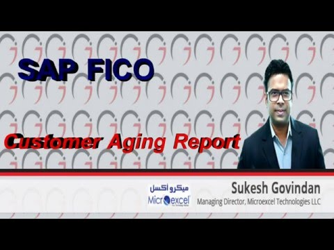 SAP FICO - Customer Aging Report