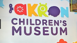 Taking Kids to Akron Childrens Museum - 2018
