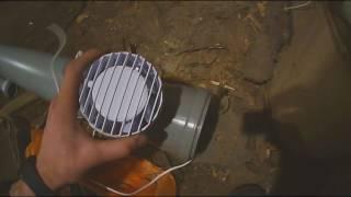 видео Как сделать вытяжку в гараже