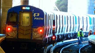 🚇/💺 Port Authority Trans-Hudson (NY/NJ): Train to 33rd Street via Hoboken... FULL RIDE!