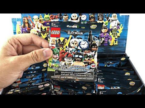 LEGO Batman Minifigures Series 2 - 60 pack BOX opening!