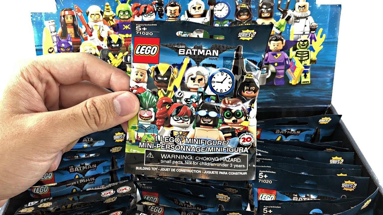 LEGO Batman 71020 Series 2 Vacation Jor-el Packet Opened To Verify Content New Figurki LEGO