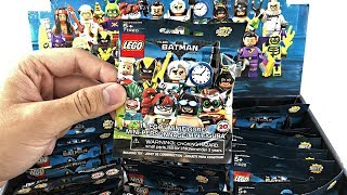 LEGO Batman Minifigures Series 2 - 60 pack BOX opening!
