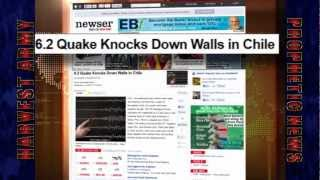 CHILE 2 Destructive 6.2 EARTHQUAKES May 14 & 18, 2012: Prediction Fulfilled in 12 hrs